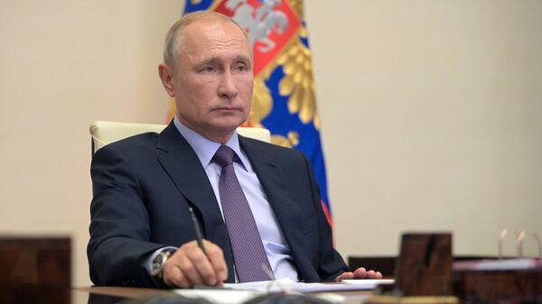 Президент РФ В. Путин провел заседание совета по стратегическому развитию и нацпроектам