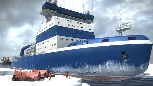 AR-проект Как это устроено. Атомный ледокол Арктика
