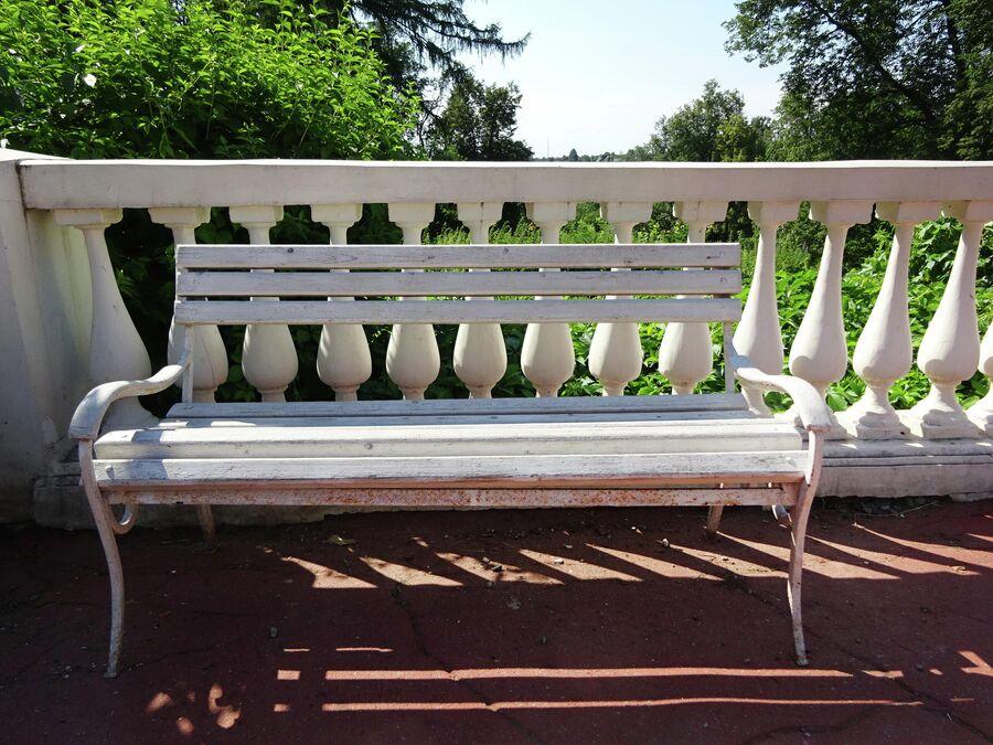 Любимая скамейка Ленина