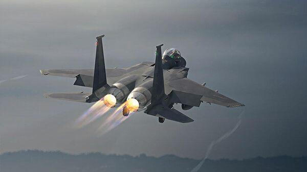 Модернизированный истребитель ВВС США F-15EX