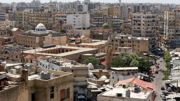 Вид на Триполи, Ливия