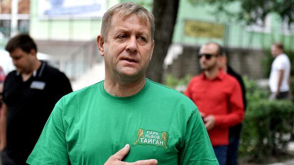 Владелец парка львов Тайган Олег Зубков