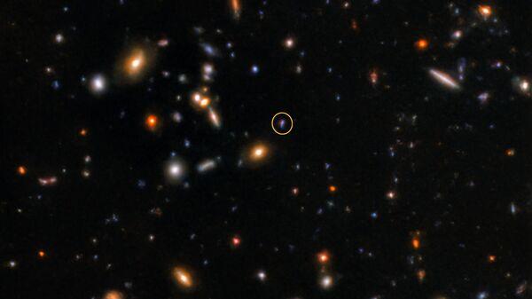 Послесвечение далекого гамма-всплеска SGRB181123B, захваченное телескопом Gemini North
