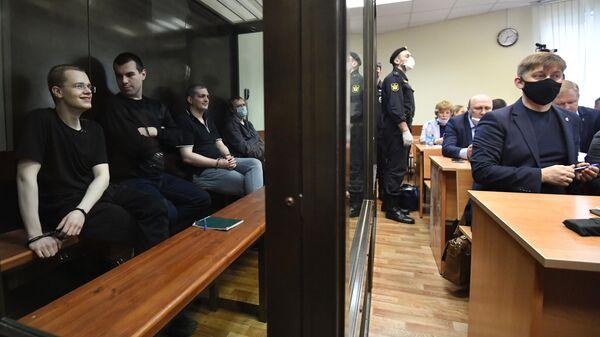 Заседание суда по делу движения Новое величие