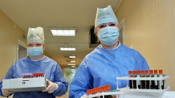 Медики филиала Главного военного клинического госпиталя имени Н. Н. Бурденко