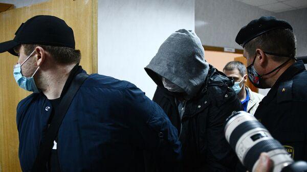 Заместитель генерального директора  Почты России Сергей Емельченков в Чертановском суде Москвы