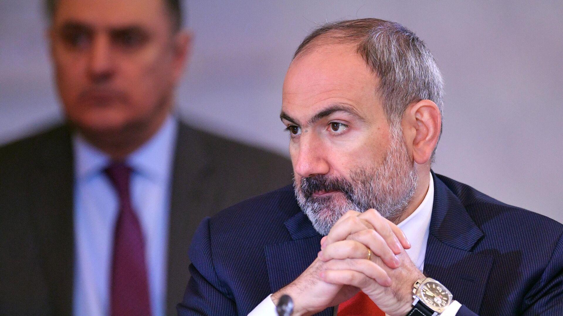 Премьер-министр Армении Никол Пашинян - РИА Новости, 1920, 25.10.2020