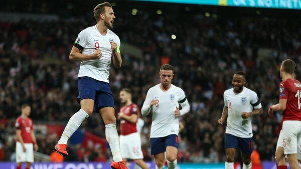 Нападающий сборной Англии по футболу Харри Кейн