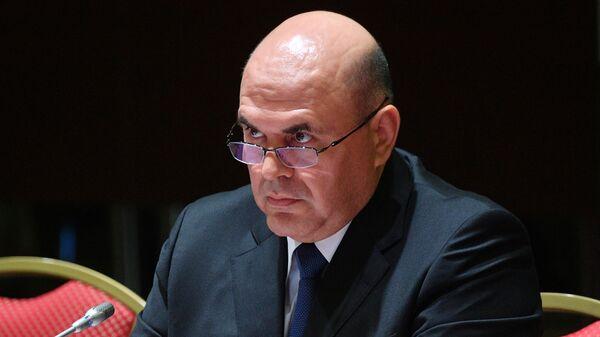 Председатель правительства РФ Михаил Мишустин на заседании Евразийского межправительственного совета в расширенном составе