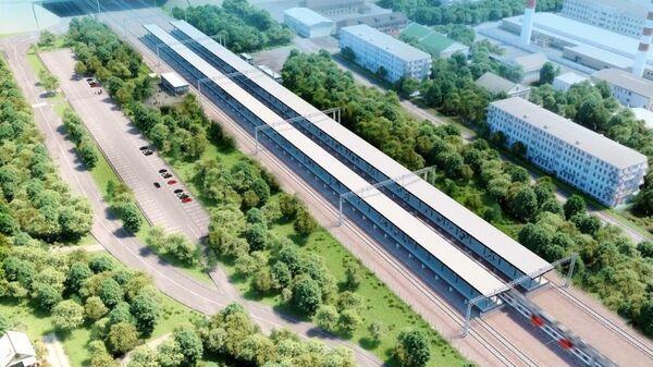 Проект обустройства железнодорожной станции Мещерская