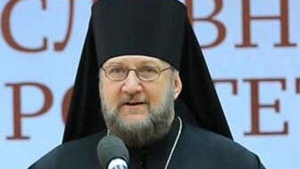 представитель патриарха Сербского при патриархе Московском и всея Руси епископ Моравический Антоний