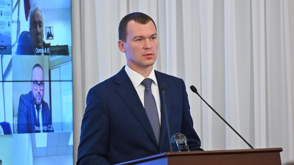 Врио губернатора Хабаровского края Михаил Дегтярёв