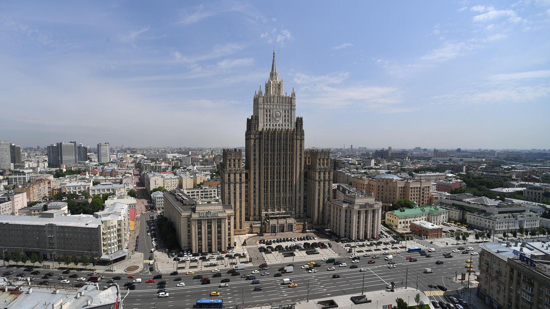 Здание Министерства иностранных дел России - РИА Новости, 1920, 18.01.2021