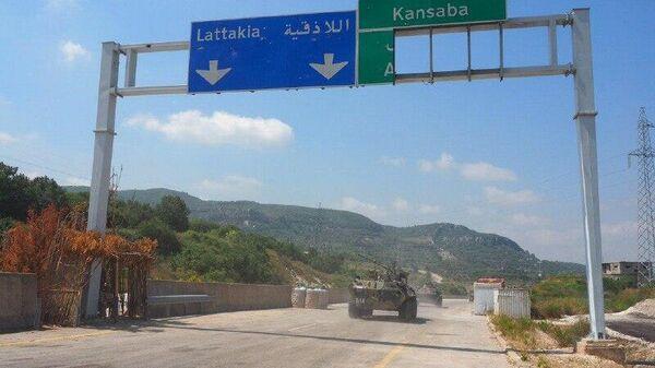 Российско-турецкий патруль в сирийском Идлибе