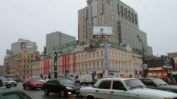 Здание магазина Смоленский пассаж