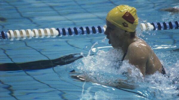 Олимпийская чемпионка Лина Качюшите установила на этой дистанции новый олимпийский рекорд - 2 минуты 29,54 секунды.