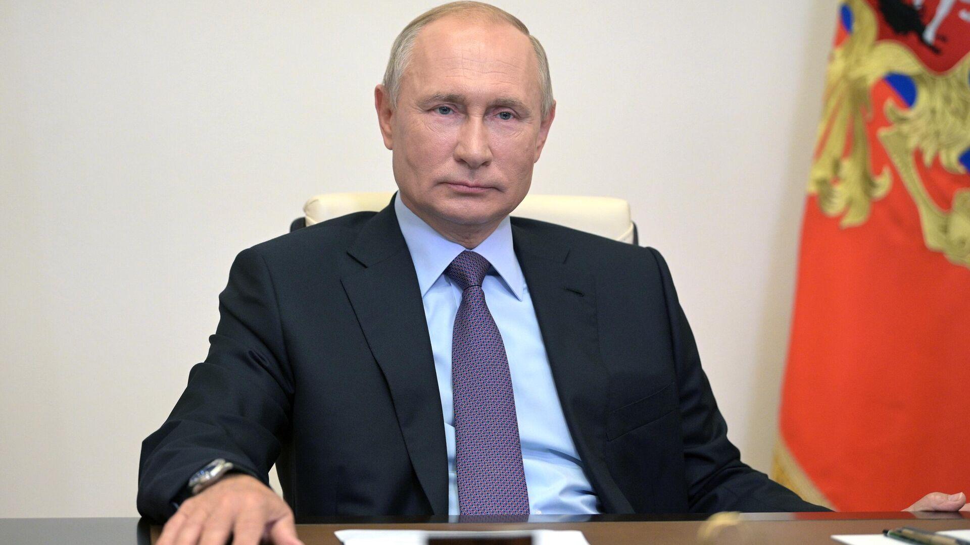 Президент РФ Владимир Путин - РИА Новости, 1920, 27.10.2020