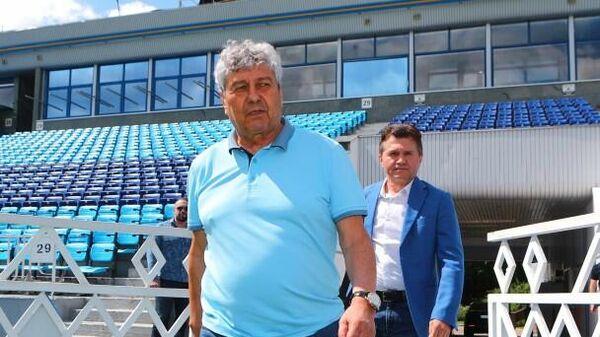 Главный тренер киевского Динамо Мирча Луческу