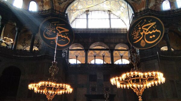 Мечеть Айя-София (собор Святой Софии) в Стамбуле