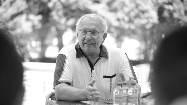 Олимпийский чемпион 1964 года по борьбе и и спортивный журналист Александр Иваницкий