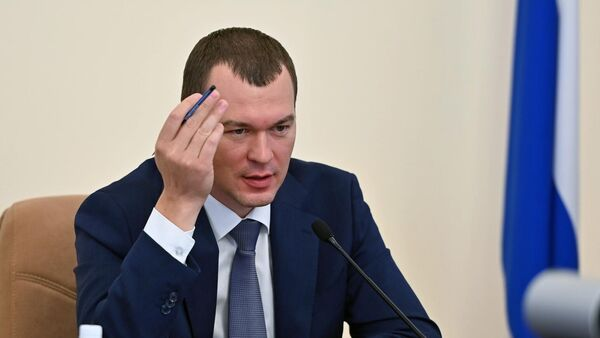Врио губернатора Хабаровского края М. Дегтярев