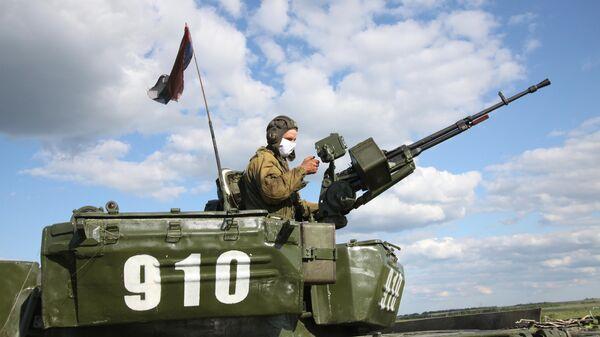 Танкист Народной милиции ДНР