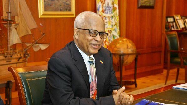 Посол Эфиопии в России Алемайеху Тегену Аргау