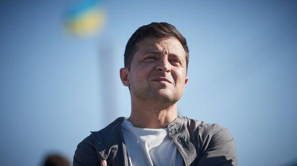 Рабочая поездка Президента Украины Владимира Зеленского в Донецкую и Луганскую области