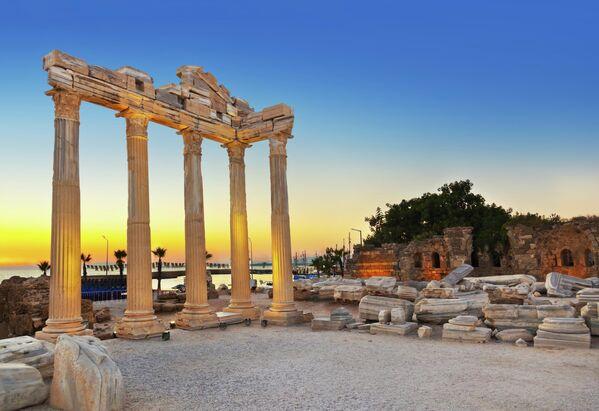 Руины в Сиде, Турция