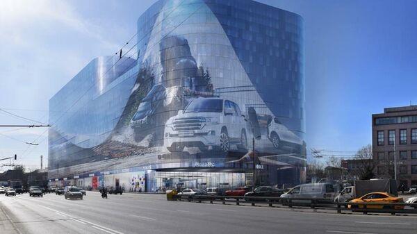 Проект офисно-торгового центра в составе ТПУ Нагатинская