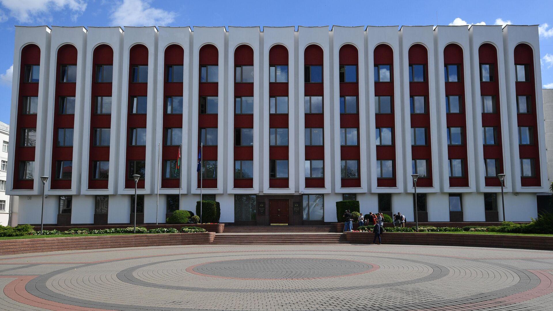 Здание МИД Белоруссии в Минске - РИА Новости, 1920, 06.07.2021