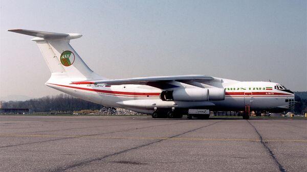 Ил-76ТД борт RA-76842 за 4 месяца до захвата