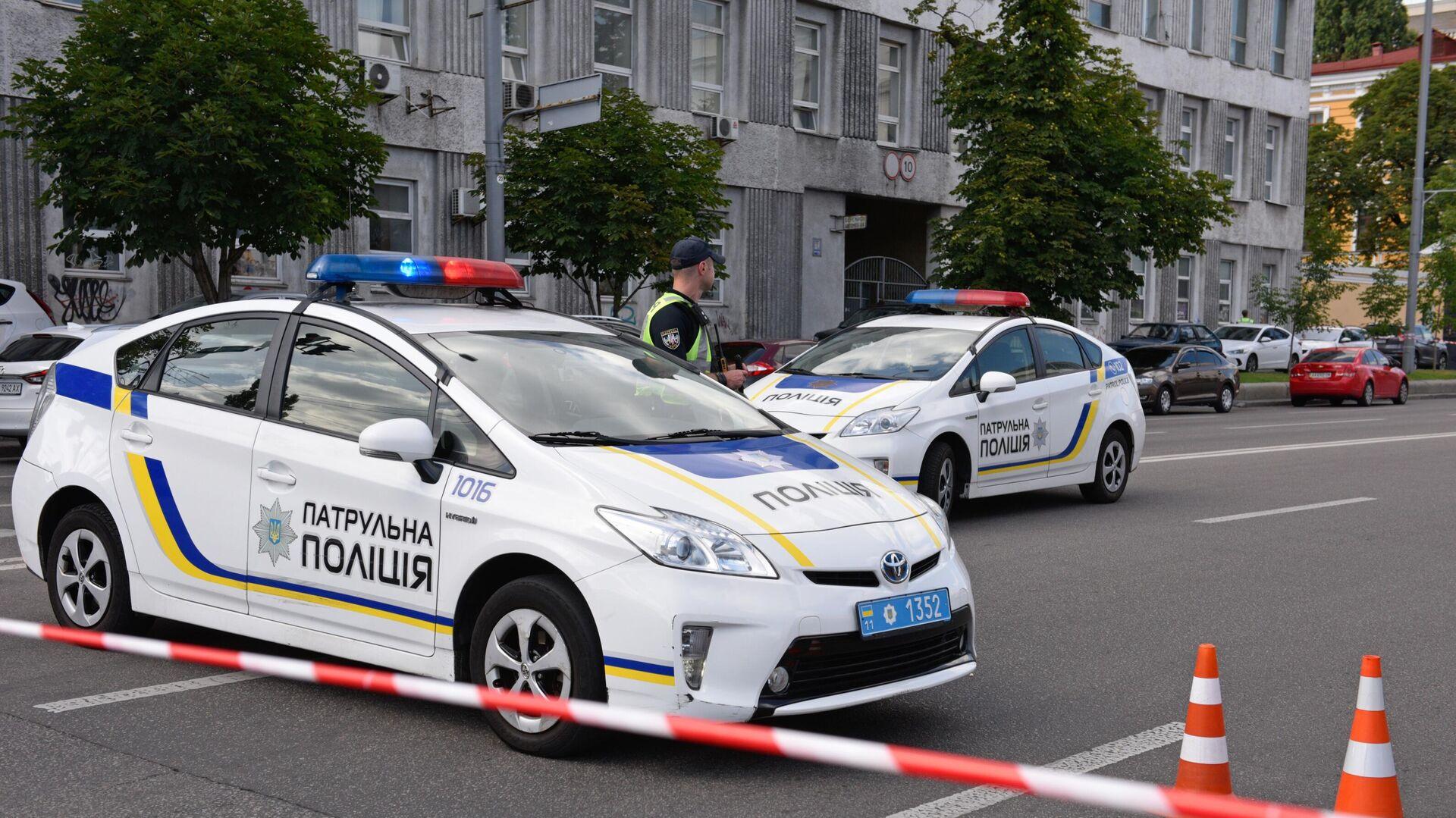 Машина полиции на Украине - РИА Новости, 1920, 24.08.2020