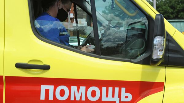 Фельдшер Тамбовской областной станции скорой медицинской помощи и медицины катастроф в реанимобиле