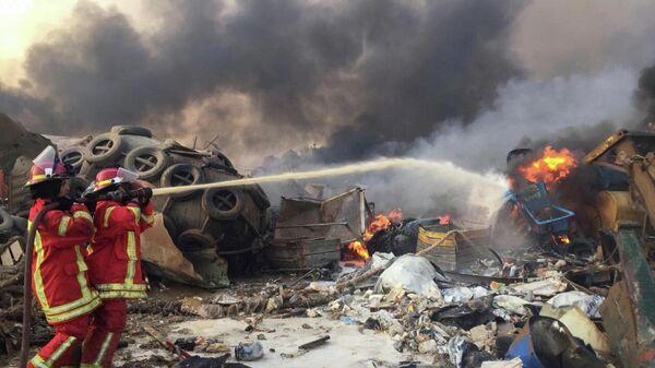 Последствия пожара в Бейруте, Ливан