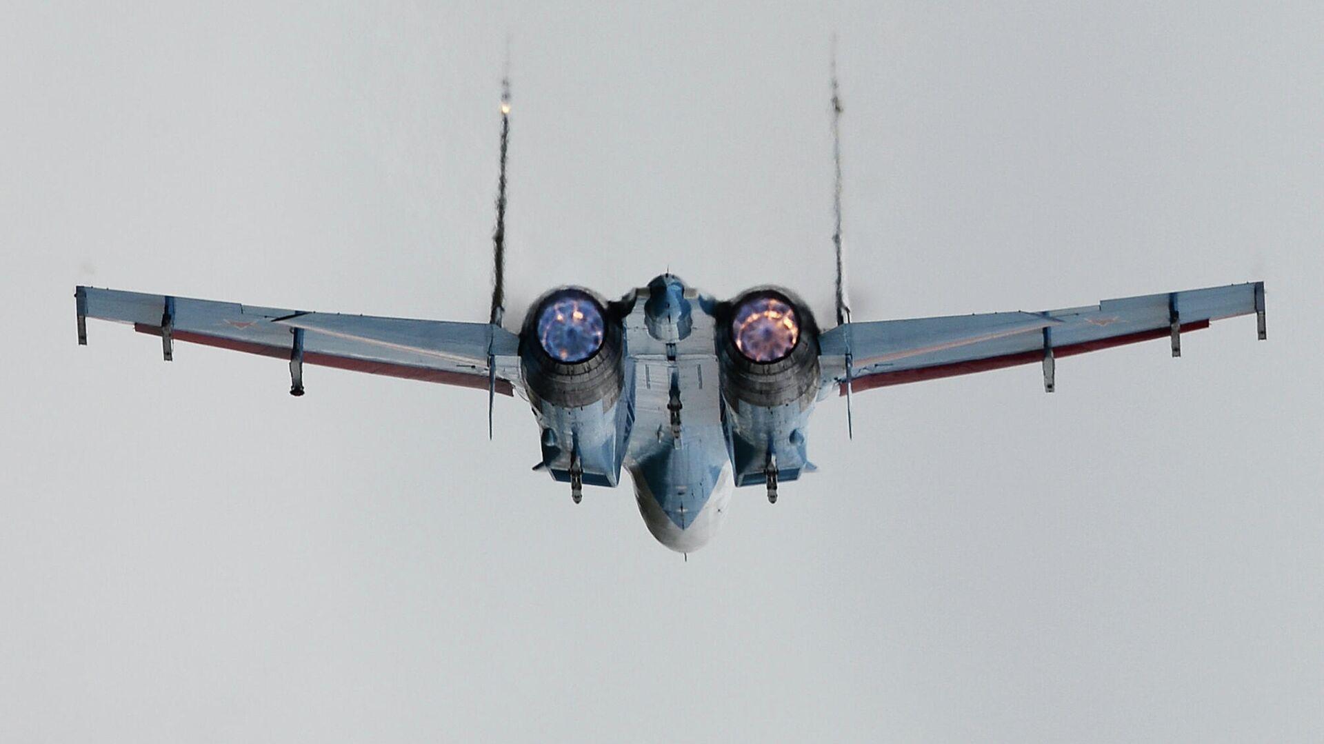 Самолет Су-27  - РИА Новости, 1920, 15.09.2020