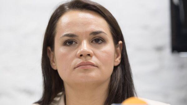 Экс-кандидат в президенты Белоруссии Светлана Тихановская