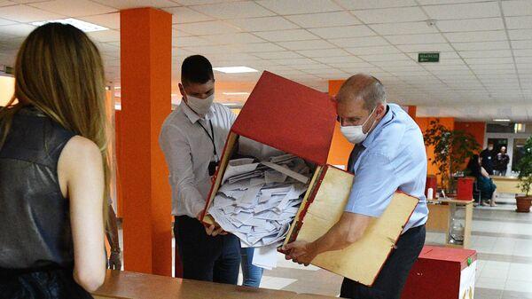 Подсчёт голосов на выборах президента Белоруссии