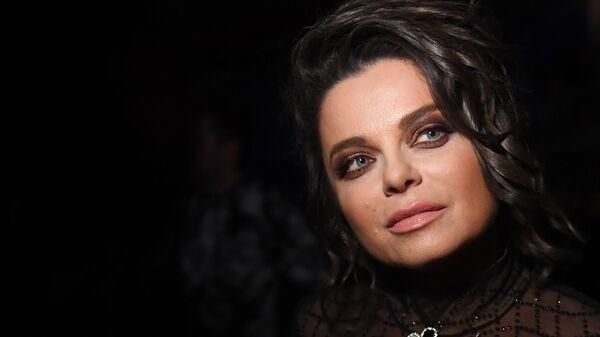Певица Наташа Королева на концерте Песня года