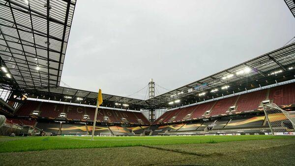Стадион в Кельне перед матчем Лиги Европы Манчестер Юнайтед - Севилья