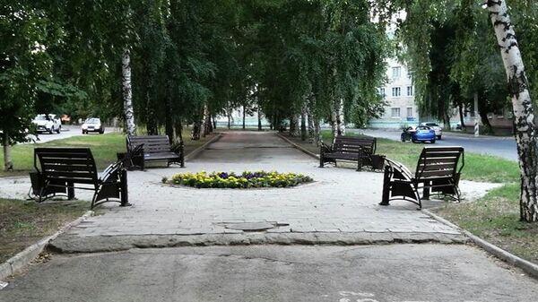 Молодежный бульвар в Тольятти
