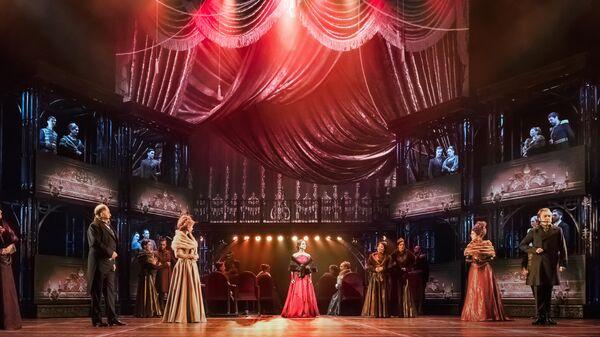 Сцена из мюзикла Анна Каренина