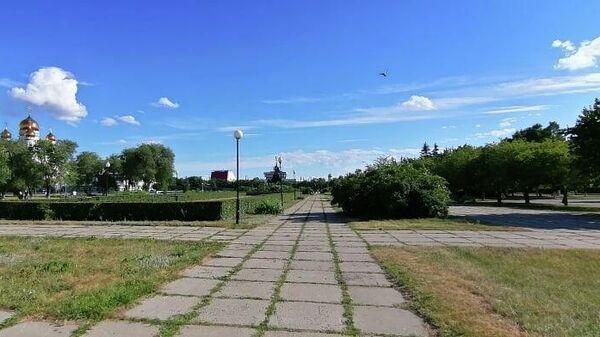 Панорама 32-го квартала Автозаводского района Тольятти