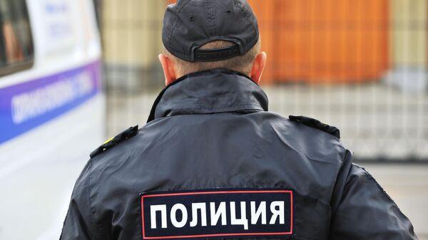 Сотрудник полиции Управления министерства внутренних дел Российской Федерации