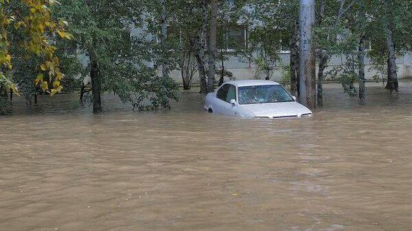 ЧС в Благовещенске: дожди затопили город