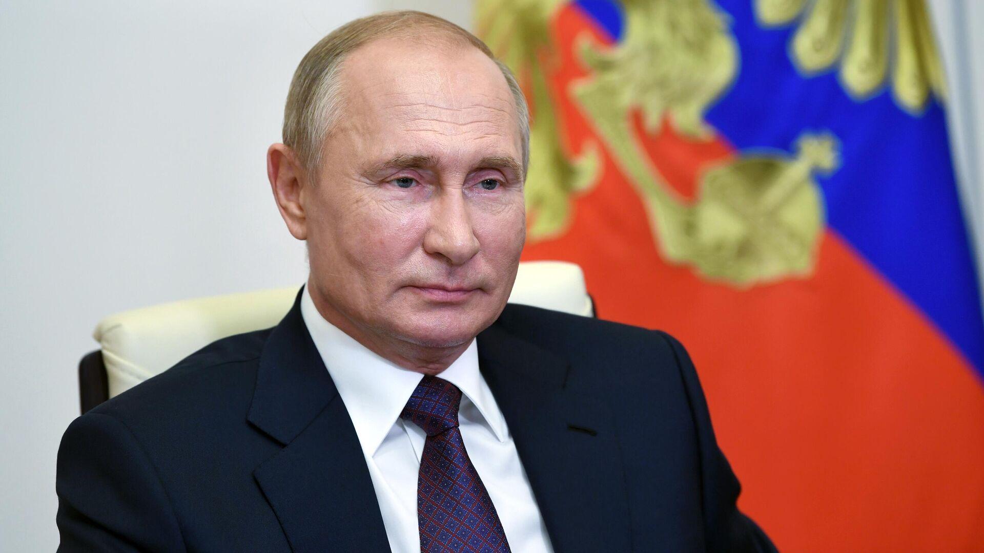 Президент России Владимир Путин - РИА Новости, 1920, 09.09.2020