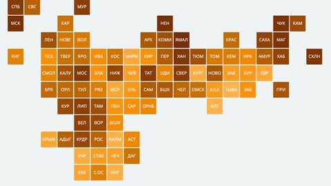 Рейтинг регионов по доходам населения — 2020