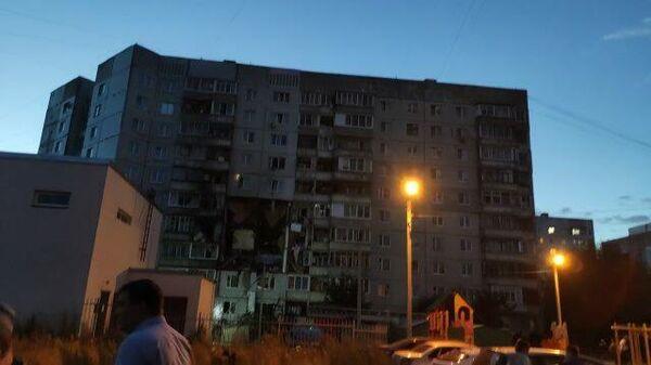 Кадры последствий взрыва в многоквартирном доме в Ярославле