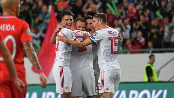 Футболисты сборной Венгрии