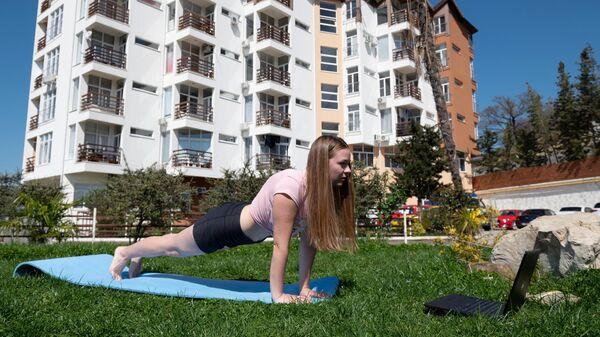 Йога-онлайн для незрячих людей: спорт без границ
